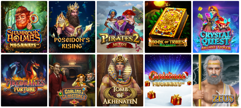 Подборка новых игр slotoKing